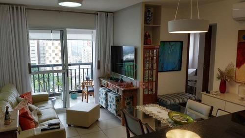 Apartamento Com 2 Dormitórios À Venda, 63 M² Por R$ 430.000,00 - Altos Da Cidade - Bauru/sp - Ap1321