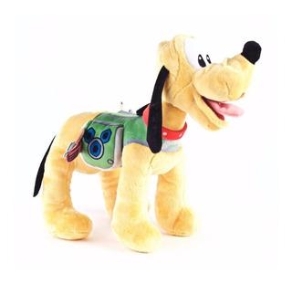 Peluche Pluto Aventura Sobre Ruedas 45cm Original Disney