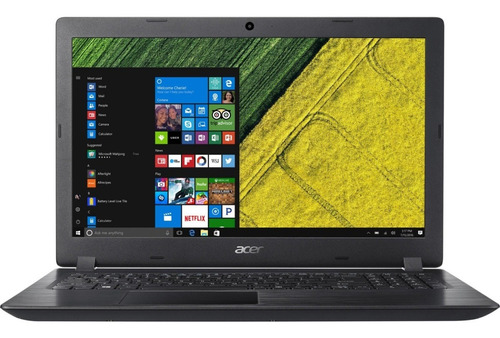 Notebook I3 Acer Aspire 3 7020u 4gb 1tb 15,6 Hd Black Linux