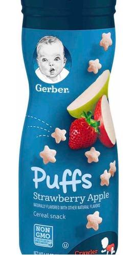 Imagen 1 de 1 de Gerber Puffs Galletas- Snacks Para Bebe