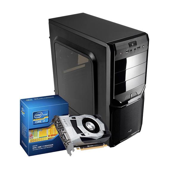 Pc Gamer I7, 16gb, 1tb, Geforce 4gb 1050 Gtx Ti, Dvd-rw