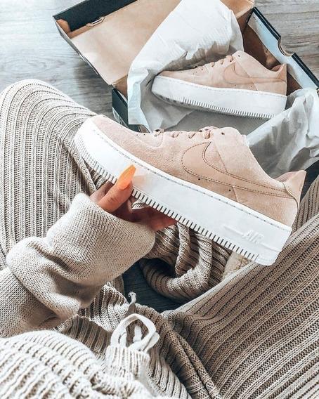 Zapatillas Nike Air Force Sage Low Beige