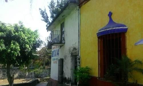Casa Historica En Venta En El Centro De Tlayacapan, Morelos