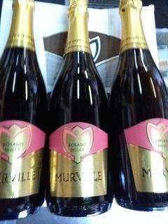 Champagne Murville Rosado Dulce