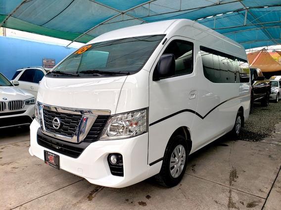 Nissan Urvan Amplia, Un Dueño, Factura Agencia, Impecable