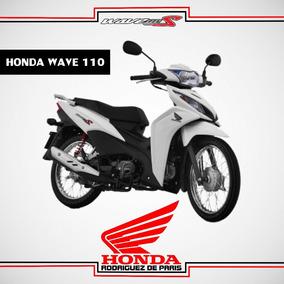 Honda Wave 110 0km 2017 - Roja, Blanca, Negra.