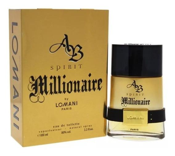 Perfume Lomani Millionaire Spirit Edt 100ml Original