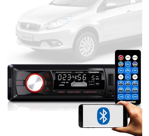 Imagem 1 de 6 de Aparelho Bluetooth/usb/aux/sd/fm Roadstar Siena + Mixvitra