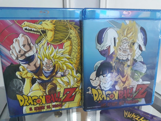 Pack 3 Bluray Dragon Ball Originales Envio Gratis