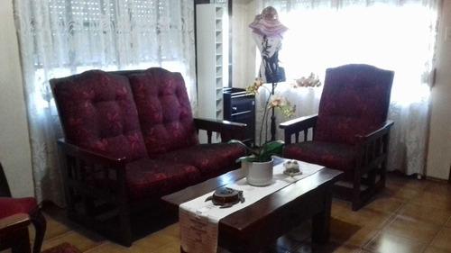 Casa Con 3 Dormitorios Y Amplio Patio Con Barbacoa + Baño
