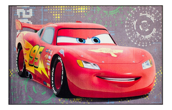 Tapete Infantil Niños Disney 100x140 Cm - Personajes Varios!