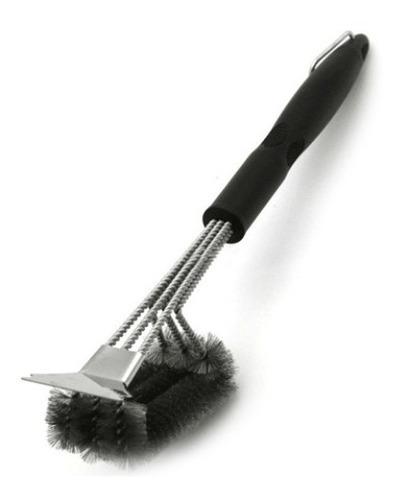 Cepillo Limpieza Parrilla Acero