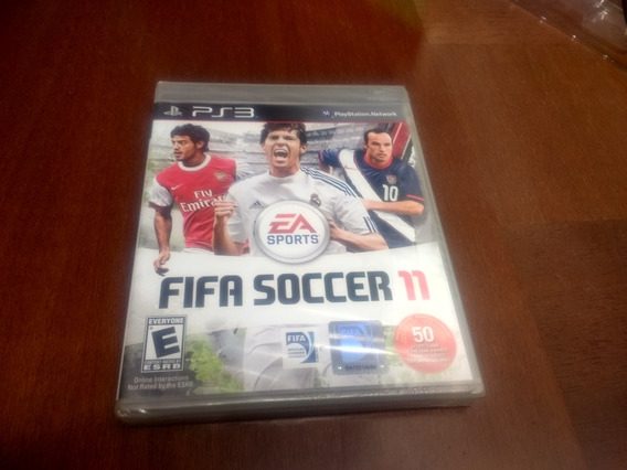 Fifa Soccer 11 Ps3 Original Mídia Física Lacrado Novo