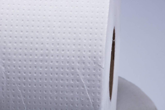 Papel Higiênico 300 Metros Branco Luxo- 8 Rolos 10 Com300 Cm