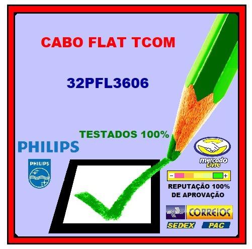 Cabo Flat Tcom Philips 32pfl3606 O Par