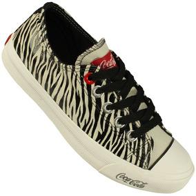 Tênis Coca-cola Shoes Basket Low Tag Nfe Tênis Preto