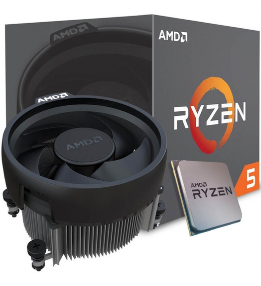 Pc Amd Ryzen 5 1600 Completo + Placa De Video Rx
