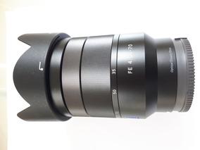 Lente Sony Vario-tessar T* Fe 24-70mm F/4 Novíssima