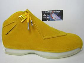 Jordan Xviii Yellow Suede Edition (28.5 Mex) Astroboyshop