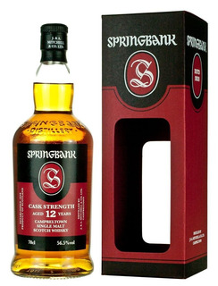 Whisky Single Malt Springbank 12 Años Cask Strength 56,5%abv