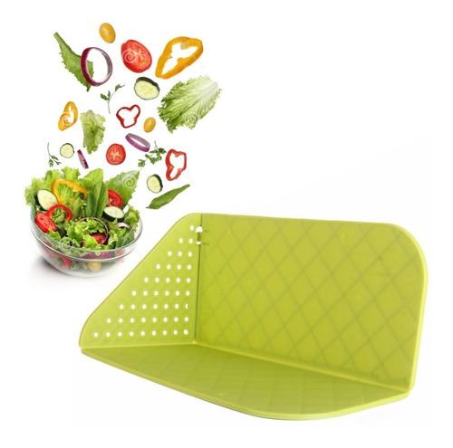 ¡ Tabla Plegable Picar Alimentos Frutas Verduras Vegetales !