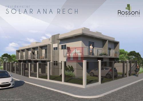 Sobrado À Venda, 61 M² Por R$ 195.000,00 - Ana Rech - Caxias Do Sul/rs - So0195