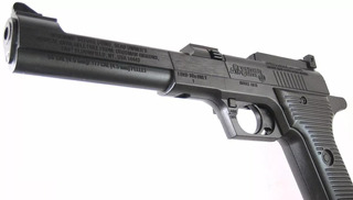Pistola Co2 Pressão Crosman Auto Air Ii Co2 Bb 4,5mm Leia +