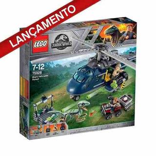 Lego 75928 Jurassic World - A Perseguição De Helicóptero