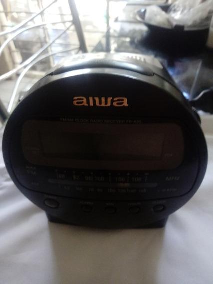 Rádio Relógio Aiwa