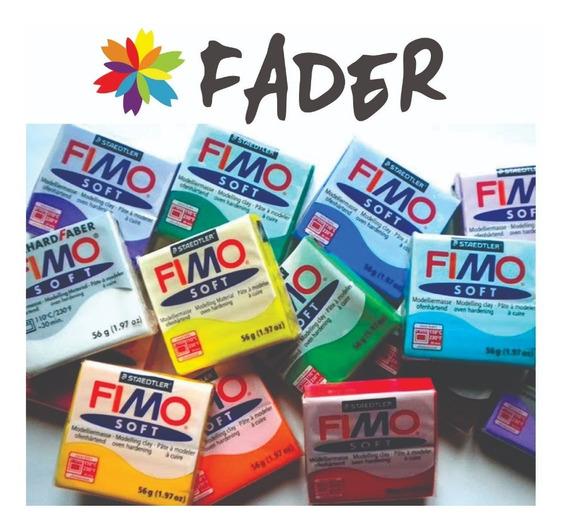Fimo Soft Arcilla Polimérica P/ Artesano Horno Barrio Norte