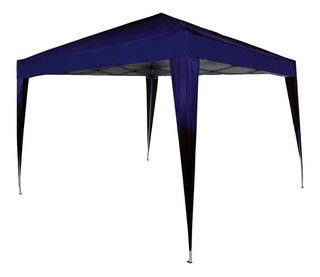 Tenda Gazebo Sanfonada 3x3m Azul Wwsoldas