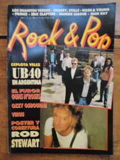Rock & Pop Nº 40. Virus Rod Stewart Prince Guns N
