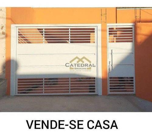 Imagem 1 de 14 de Casa Com 2 Dormitórios À Venda, 80 M² Por R$ 375.000,00 - Jardim Vale Verde - Jundiaí/sp - Ca0094