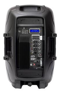 Bafle 15 Potenciado 400w Usb Mp3 Bluetoot Audiosonic As15580