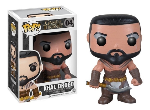 Figura Funko Pop 04 Khal Drogo - Game Of Thrones Oferta!
