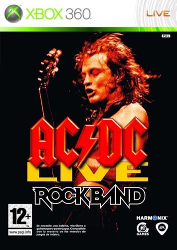 Rock Band Ac/dc  Xbox 360 - Juego Fisico