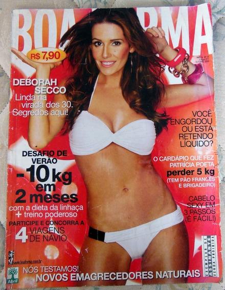 Revista Boa Forma Nº 271 Deborah Secco - Outubro 2009