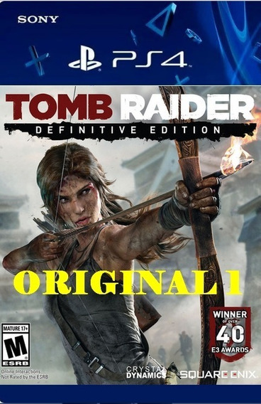 Tomb Raider - Ps4 Code 1 Env Já