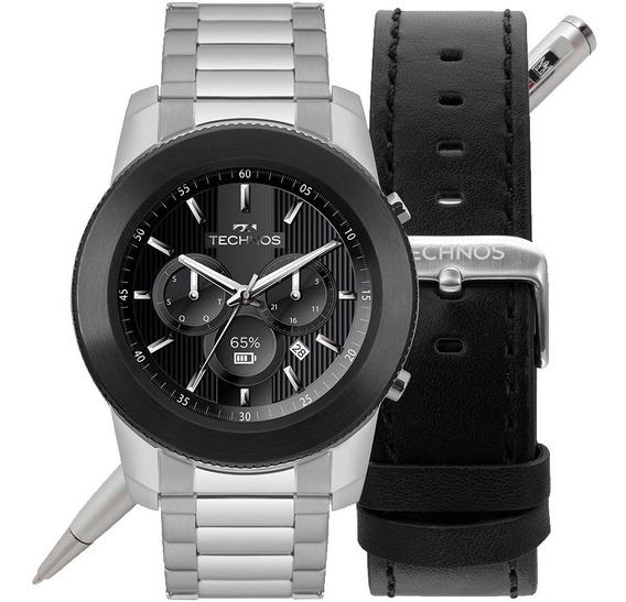 Relógio Technos Smartwatch Masculino Connect 3+ M1ac/5p Nfe