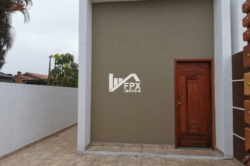 Casa Geminada No Balneário Tupy Em Itanhaém - Ca367-f