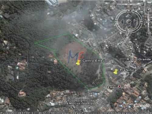 Imagem 1 de 1 de Ref 7912 - Terreno 84.800 M² Em Frente A Prefeitura  Centro - Embú. Estuda Permutas E Propostas. - 7912