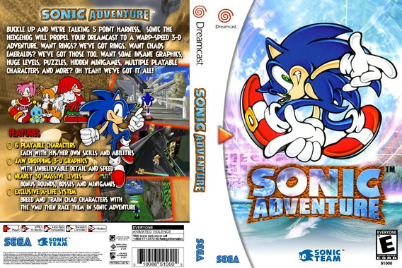 Sonic Adventure 1 E 2 - Dreamcast - Patch - Selfboot