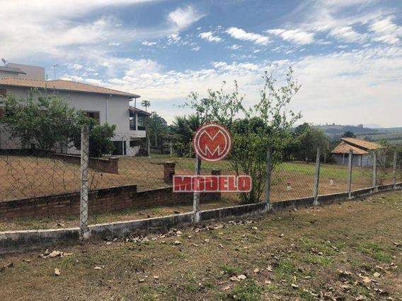 Terreno À Venda, 1000 M² Por R$ 180.000 - Recanto Das Águas - Águas De São Pedro/sp - Te0780