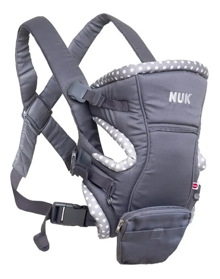 Canguru Baby Carrier Natural Fit 3 Em 1 Cinza Nuk Pa706608ub