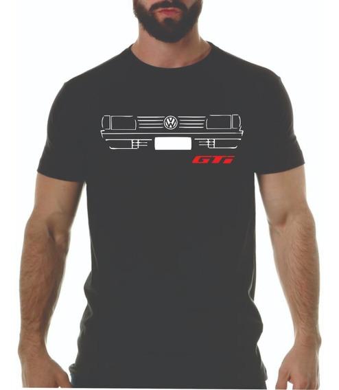Camiseta Vw Gol Saveiro Parati Quadrado Gts Gt Gti Antigo