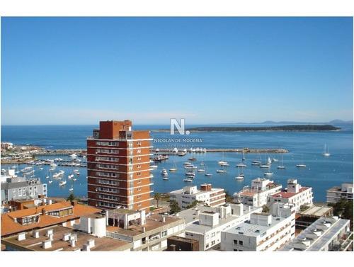 Apartamento En Peninsula Vista Al Puerto, 3 Dormitorios, Venta Y Alquiler , Punta Del Este, Peninsula-ref:608