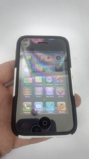 iPhone 3gs 8gb Preto Lindo Desbloqueado Todas As Operadoras