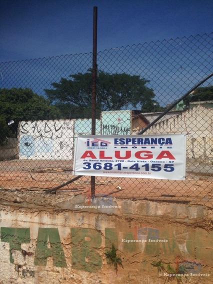 Ref.: 3793 - Terrenos Em Osasco Para Aluguel - L3793