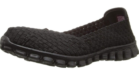 Flats Skechers Active Flex Color Negro #22.5