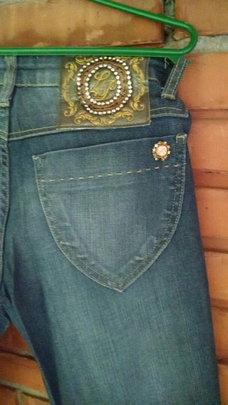 Calça Jeans L P Tamanho 40